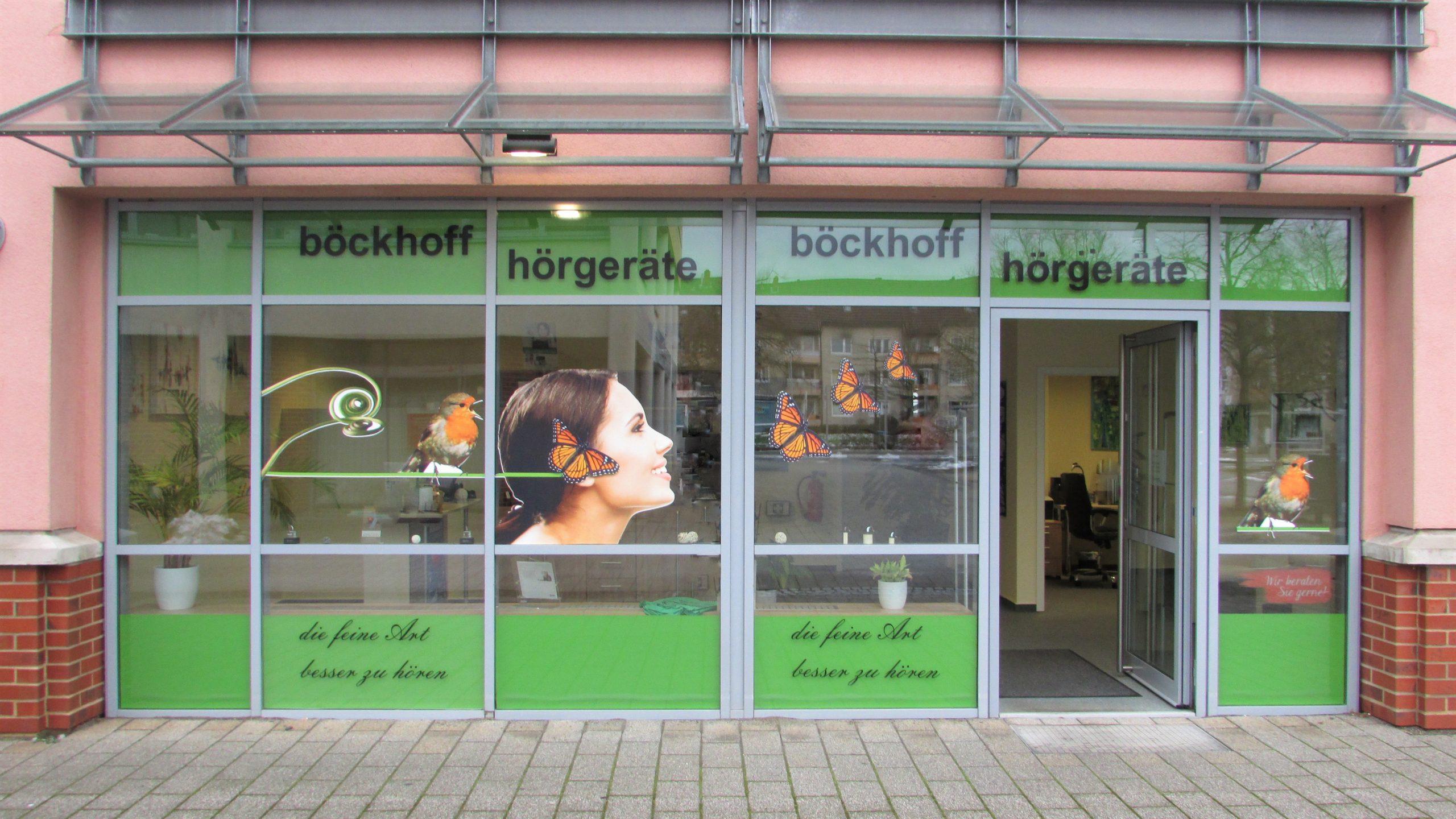 Aussenansicht der Filiale Stöckheim in Braunschweig